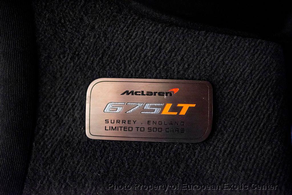 2016 McLaren 675LT 2dr Coupe - 18479217 - 19