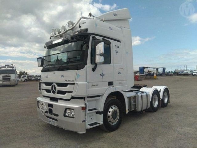 Wonderbaar 2016 Used Mercedes-Benz 2655 Actros v8 6x4 at Penske Commercial RR-12