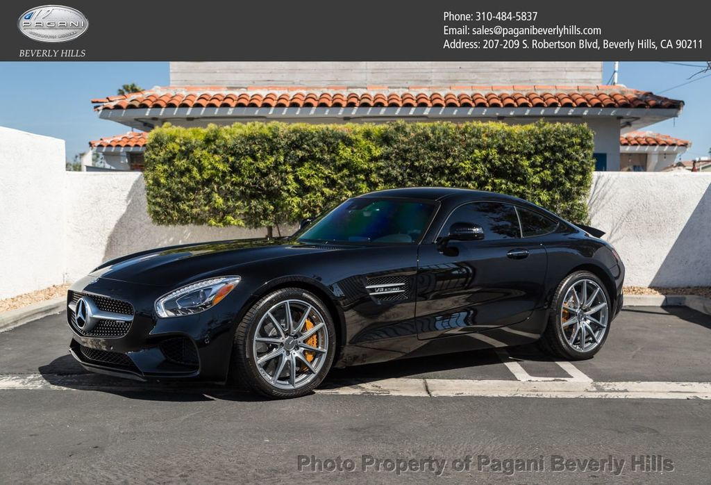2016 Used Mercedes-Benz AMG GT at Pagani Beverly Hills, CA, IID 17497007