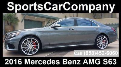 2016 Mercedes-Benz AMG S63  Sedan