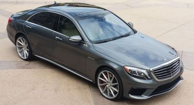 2016 Mercedes-Benz AMG S63  - Click to see full-size photo viewer