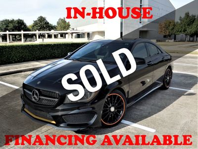 2016 Mercedes-Benz CLA 2016 MERCEDES BENZ CLA 250, ORANGE EDITION, PANO ROOF, NAVI  Sedan