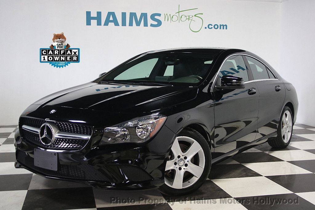 2016 used mercedes benz cla 4dr sedan cla 250 fwd at haims motors serving fort lauderdale. Black Bedroom Furniture Sets. Home Design Ideas