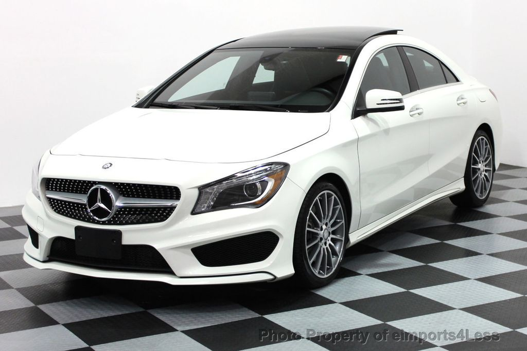 2016 Used MercedesBenz CERTIFIED CLA250 4Matic AMG SPORT AWD