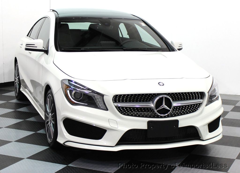 2016 used mercedes benz certified cla250 4matic amg sport