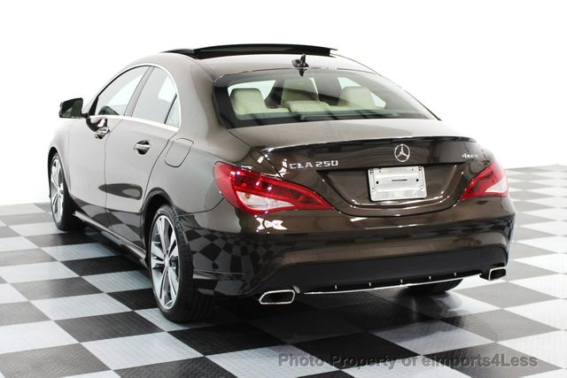 2016 Mercedes-Benz CLA CERTIFIED CLA250 4Matic AWD CAMERA / BLIS / NAVI - 15724831 - 17