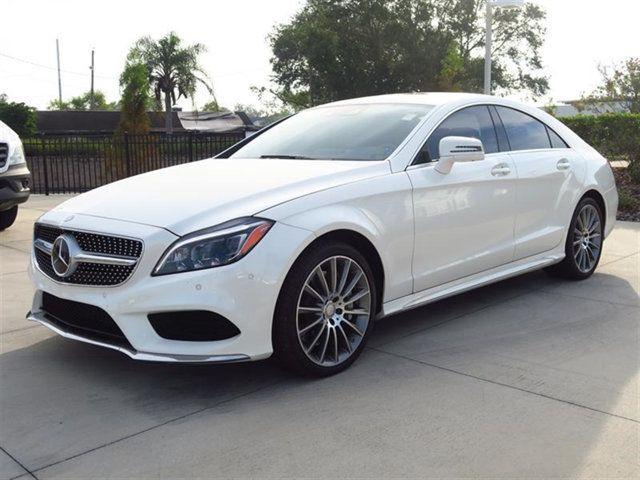 2016 Mercedes Benz Cls 4dr Sedan 550 Rwd Wddlj7db9ga169166 1