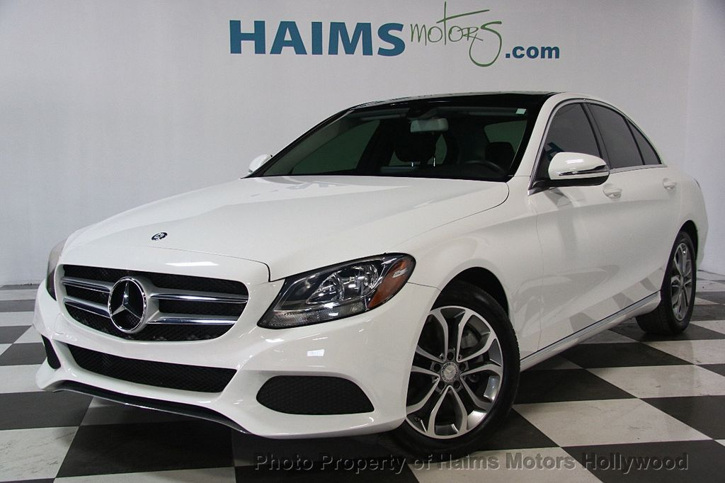 2016 used mercedes benz c class 4dr sedan c 300 rwd at haims motors serving fort lauderdale. Black Bedroom Furniture Sets. Home Design Ideas