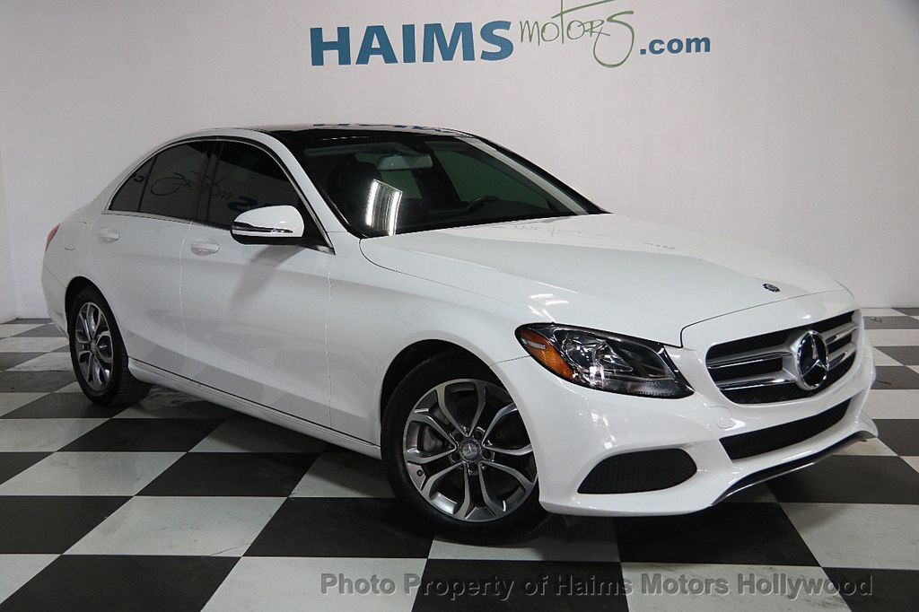 2016 mercedes benz c class 4dr sedan c 300 rwd sedan for sale in hollywood fl 24 977 on. Black Bedroom Furniture Sets. Home Design Ideas