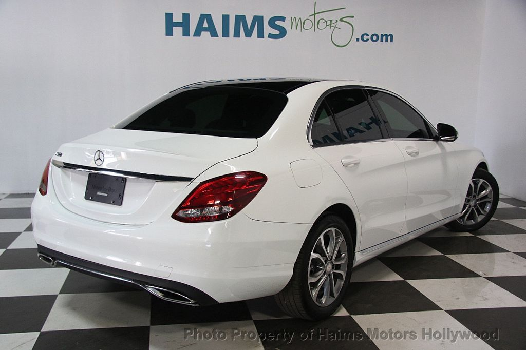 Mercedes Benz Of Ft Lauderdale >> 2016 Used Mercedes-Benz C-Class 4dr Sedan C 300 RWD at ...