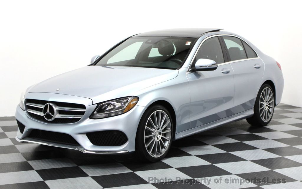 2016 used mercedes benz certified c300 4matic amg sport awd camera navi at eimports4less. Black Bedroom Furniture Sets. Home Design Ideas
