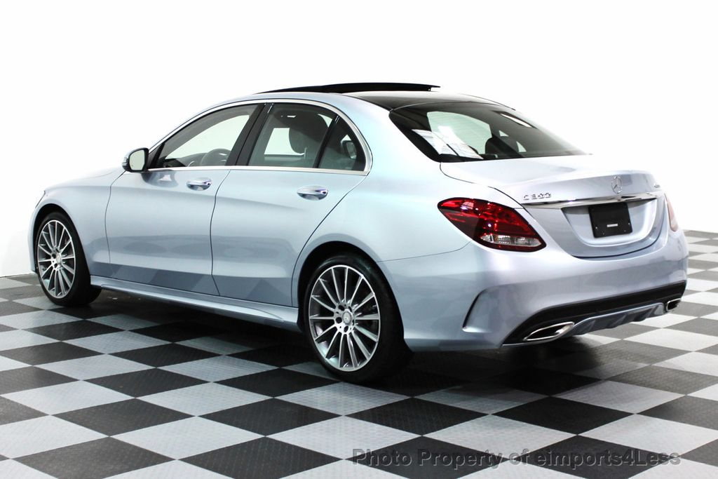 2016 used mercedes benz certified c300 4matic amg sport for Mercedes benz of greensboro used cars