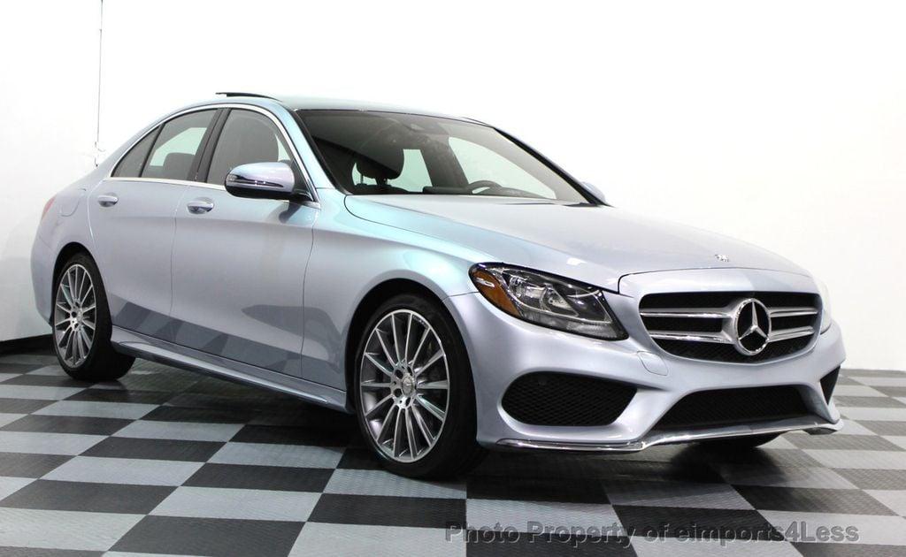 2016 Mercedes Benz C Cl Certified C300 4matic Amg Sport Awd Camera Navi