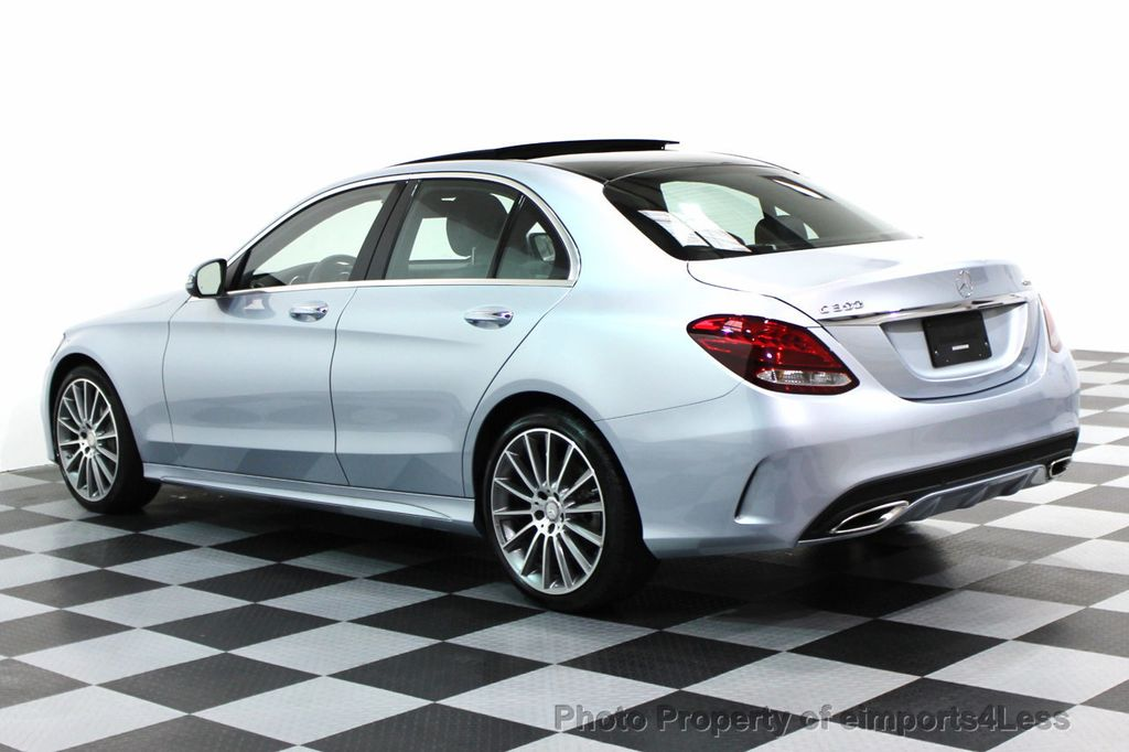 2016 used mercedes benz certified c300 4matic amg sport for Mercedes benz c300 sedan