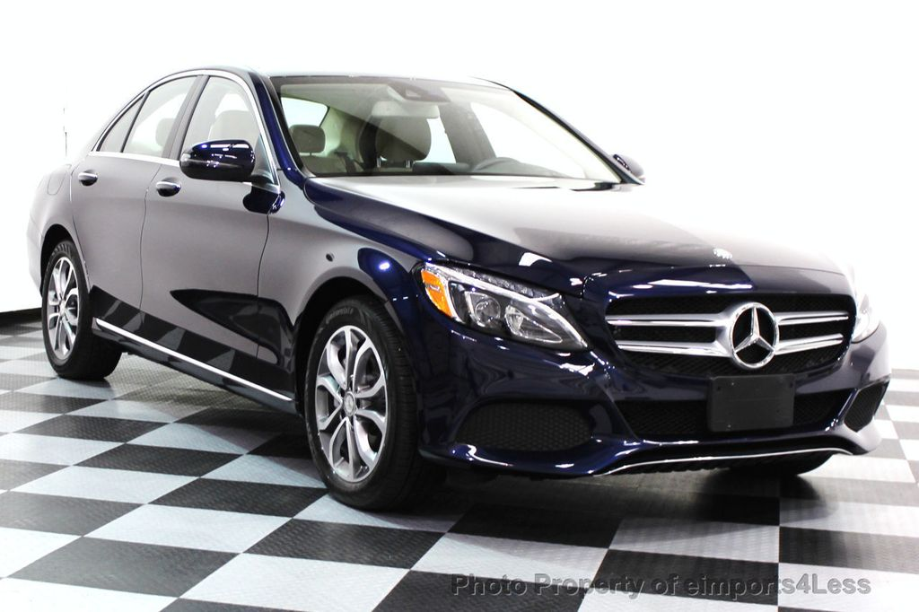 2016 Mercedes-Benz C-Class CERTIFIED C300 4Matic AWD PANO/CAMERA/NAVI - 16067046 - 1