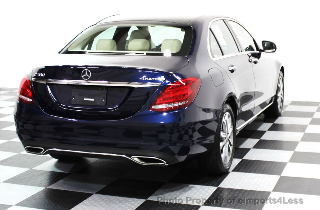 2016 Mercedes-Benz C-Class CERTIFIED C300 4Matic AWD PANO/CAMERA/NAVI - 16067046 - 21