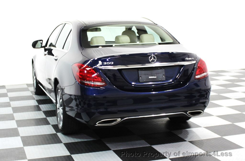 2016 Mercedes-Benz C-Class CERTIFIED C300 4Matic AWD PANO/CAMERA/NAVI - 16067046 - 41