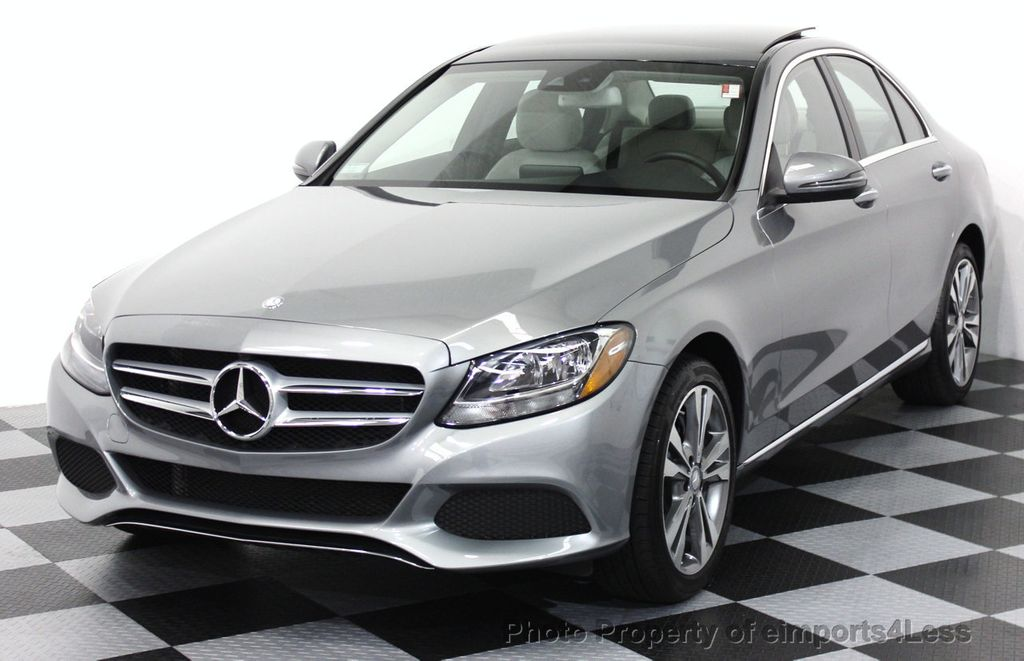 2016 used mercedes benz c class certified c300 4matic awd for Mercedes benz cpo
