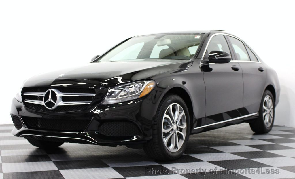 2016 used mercedes benz c class certified c300 4matic awd for Mercedes benz c class coupe 2016