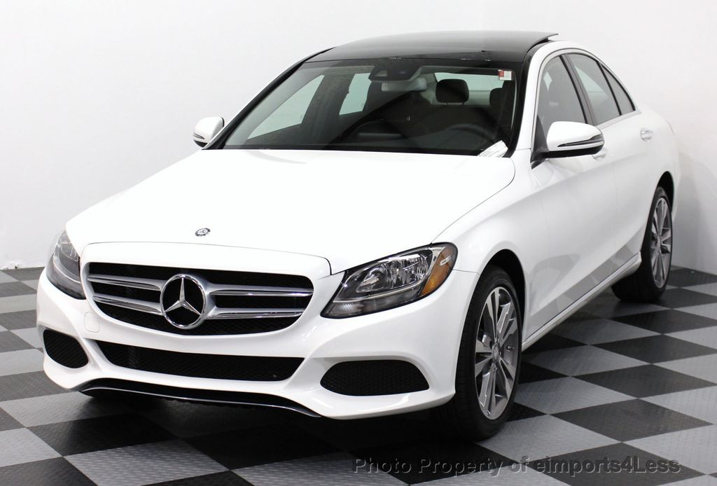 2016 used mercedes benz c class certified c300 4matic awd sedan camera navigation at. Black Bedroom Furniture Sets. Home Design Ideas