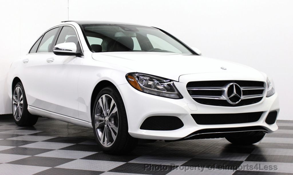 2016 Used MercedesBenz CClass CERTIFIED C300 4Matic AWD Sedan