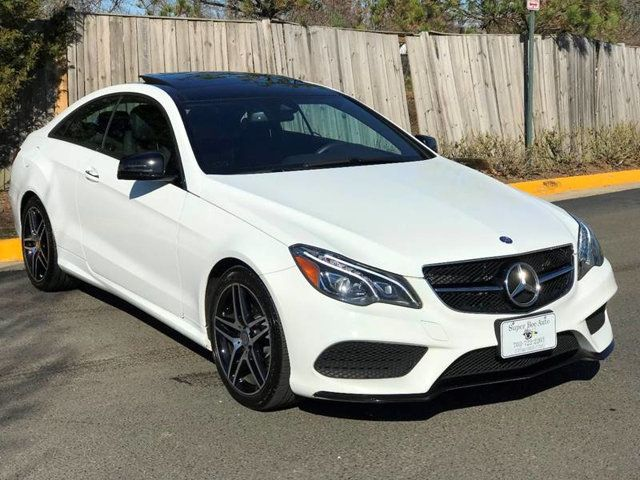 2016 Mercedes Benz E Cl 2dr Coupe 400 4matic For