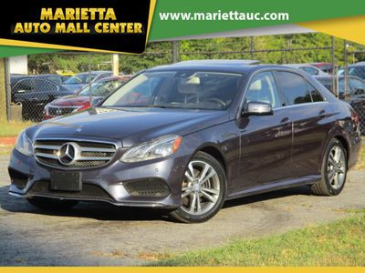 2016 Mercedes-Benz E-Class 4dr Sedan E 350 Sport 4MATIC