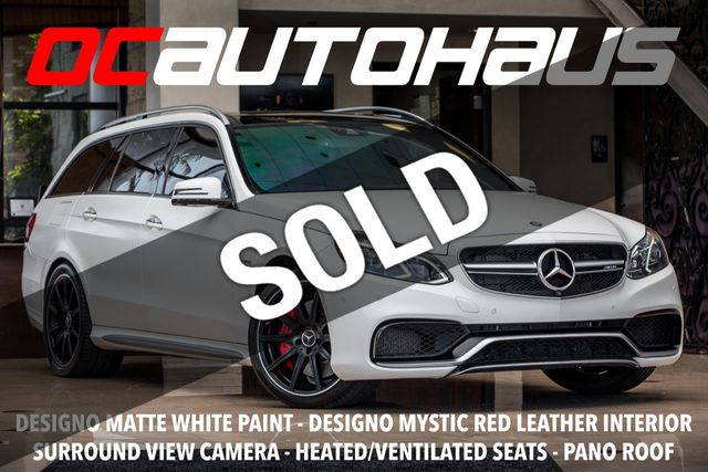 2016 Used Mercedes Benz 4dr Wagon Amg E 63 S 4matic At Oc Autohaus Serving Westminster Ca Iid 18736981
