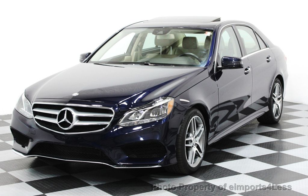 2016 Mercedes-Benz E-Class CERTIFIED E350 4Matic AMG SPORT AWD LANE TRACK NAVI - 16317867 - 0