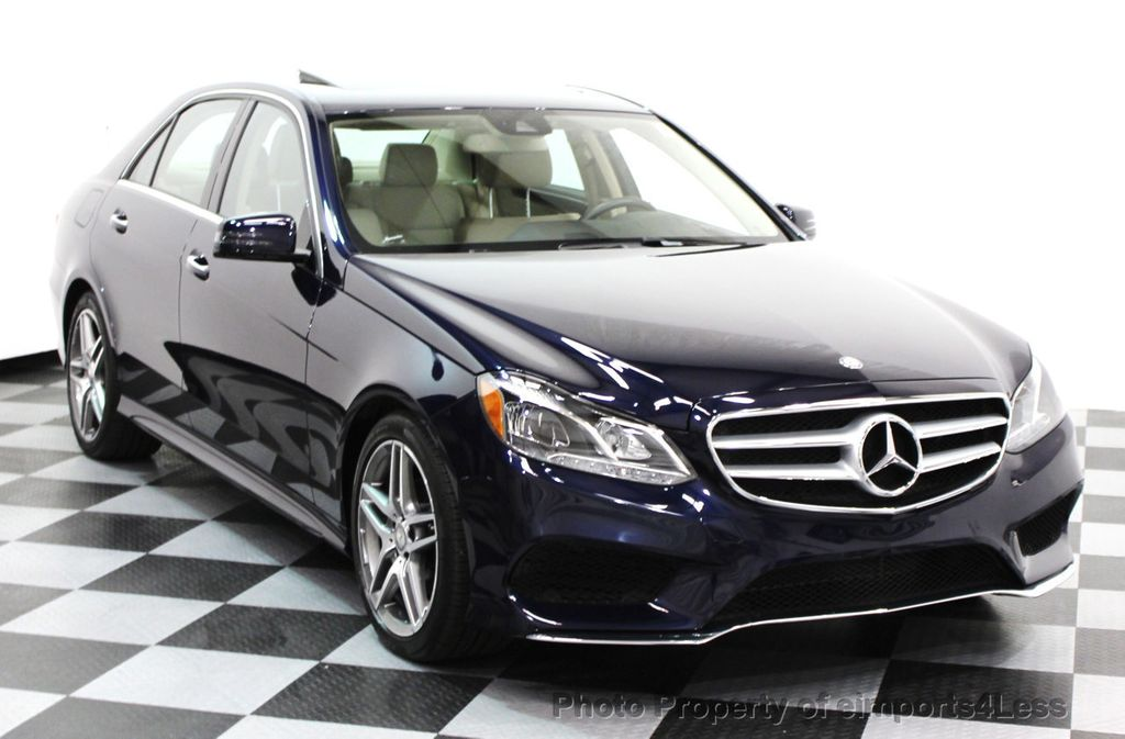 2016 Mercedes-Benz E-Class CERTIFIED E350 4Matic AMG SPORT AWD LANE TRACK NAVI - 16317867 - 15