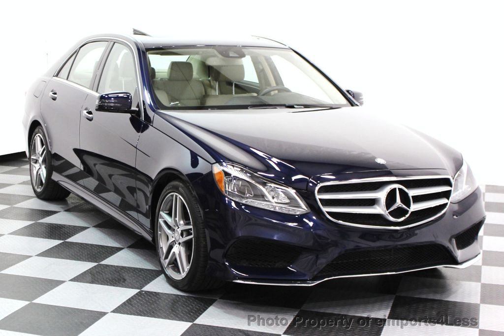 2016 Mercedes-Benz E-Class CERTIFIED E350 4Matic AMG SPORT AWD LANE TRACK NAVI - 16317867 - 1