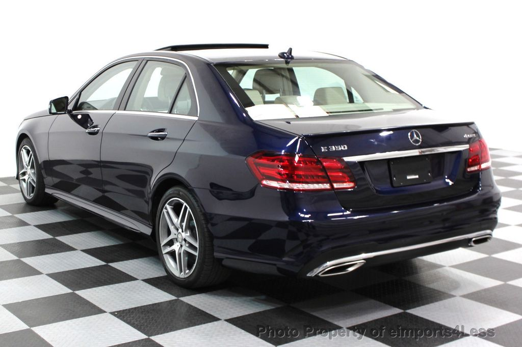 2016 Mercedes-Benz E-Class CERTIFIED E350 4Matic AMG SPORT AWD LANE TRACK NAVI - 16317867 - 24