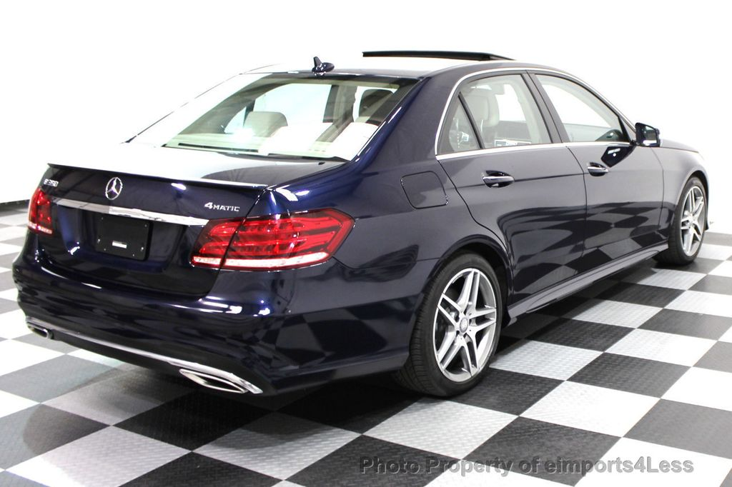 2016 Mercedes-Benz E-Class CERTIFIED E350 4Matic AMG SPORT AWD LANE TRACK NAVI - 16317867 - 25
