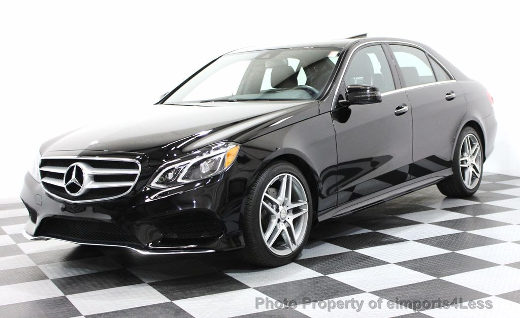 2016 Mercedes-Benz E-Class CERTIFIED E350 4Matic AMG Sport AWD LANE TRACK NAVI - 16317869 - 0