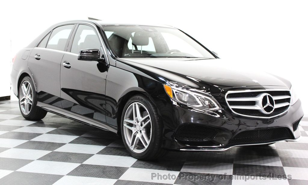 2016 Mercedes-Benz E-Class CERTIFIED E350 4Matic AMG Sport AWD LANE TRACK NAVI - 16317869 - 14