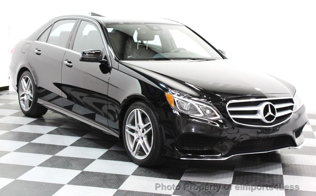2016 Mercedes-Benz E-Class CERTIFIED E350 4Matic AMG Sport AWD LANE TRACK NAVI - 16317869 - 1