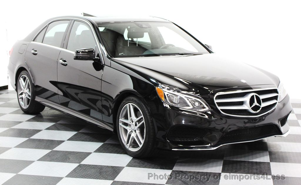 2016 Mercedes-Benz E-Class CERTIFIED E350 4Matic AMG Sport AWD LANE TRACK NAVI - 16317869 - 24