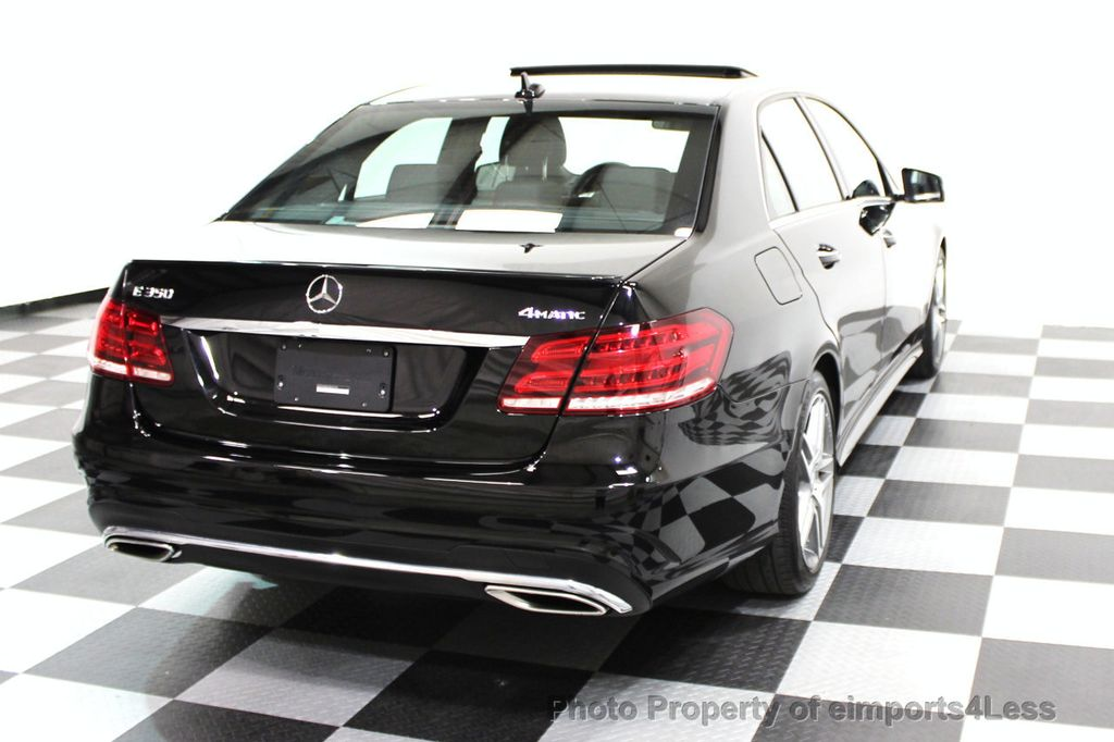 2016 Mercedes-Benz E-Class CERTIFIED E350 4Matic AMG Sport AWD LANE TRACK NAVI - 16317869 - 26