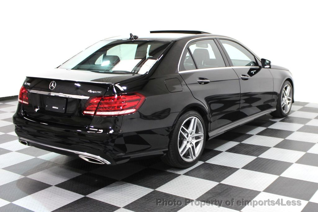 2016 Mercedes-Benz E-Class CERTIFIED E350 4Matic AMG Sport AWD LANE TRACK NAVI - 16317869 - 27