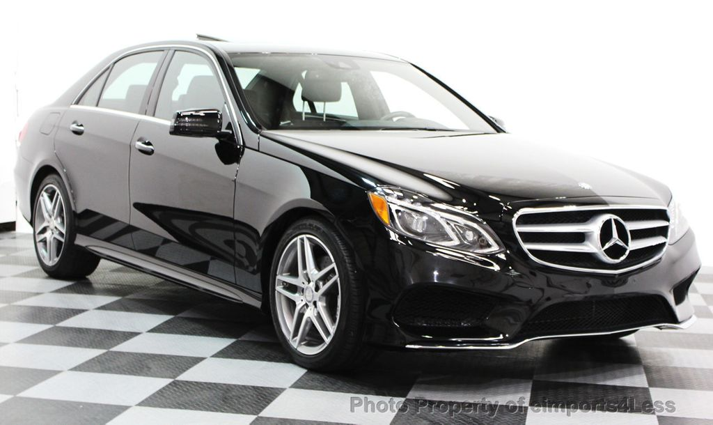 2016 Mercedes-Benz E-Class CERTIFIED E350 4Matic AMG Sport AWD LANE TRACK NAVI - 16317869 - 48
