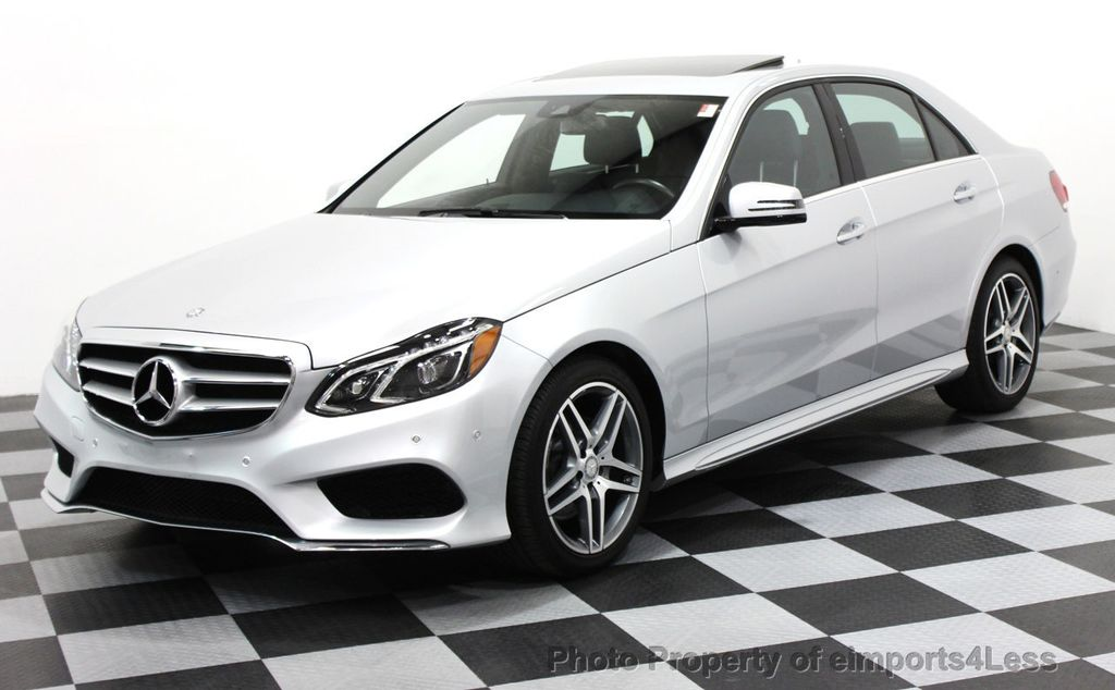 2016 Mercedes-Benz E-Class CERTIFIED E350 4Matic AMG Sport AWD LANE TRACK NAVI - 16317870 - 0