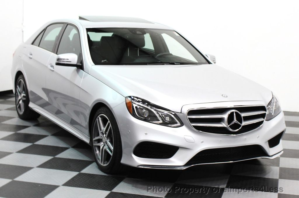 2016 Mercedes-Benz E-Class CERTIFIED E350 4Matic AMG Sport AWD LANE TRACK NAVI - 16317870 - 10