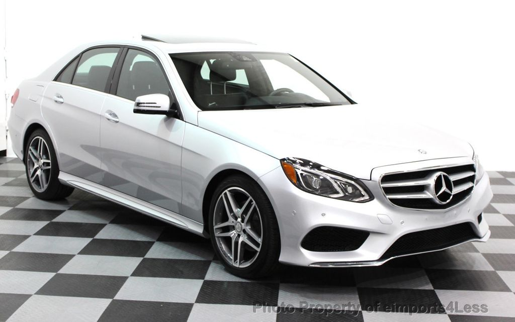 2016 Mercedes-Benz E-Class CERTIFIED E350 4Matic AMG Sport AWD LANE TRACK NAVI - 16317870 - 11