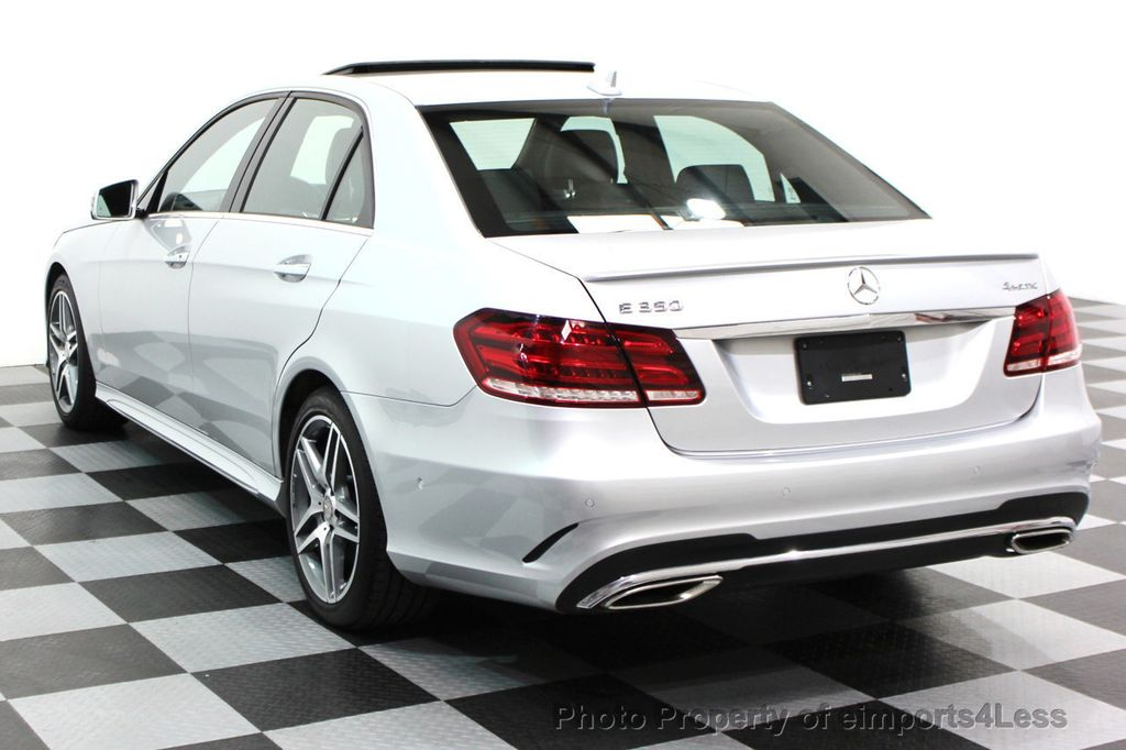 2016 Mercedes-Benz E-Class CERTIFIED E350 4Matic AMG Sport AWD LANE TRACK NAVI - 16317870 - 12