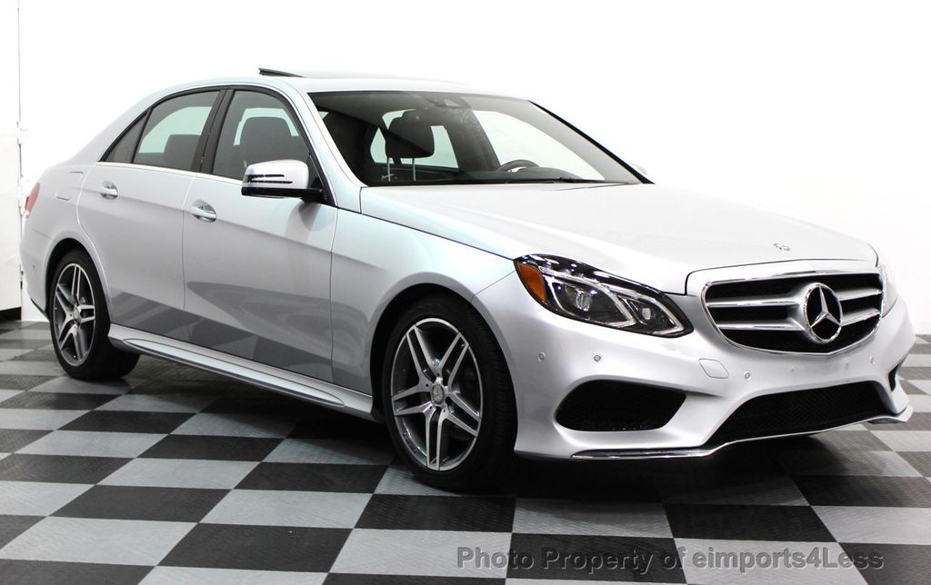 2016 Mercedes-Benz E-Class CERTIFIED E350 4Matic AMG Sport AWD LANE TRACK NAVI - 16317870 - 1