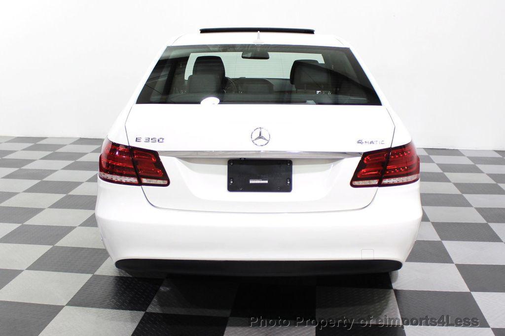 2016 Mercedes-Benz E-Class CERTIFIED E350 4MATIC Luxury Model AWD BLIS NAV CAM HK - 18319505 - 31