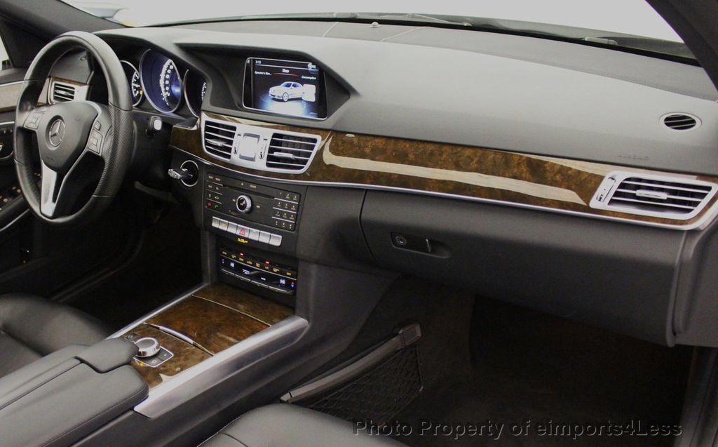 2016 Mercedes-Benz E-Class CERTIFIED E350 4MATIC Luxury Model AWD BLIS NAV CAM HK - 18319505 - 35