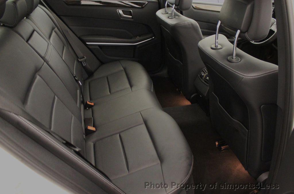 2016 Mercedes-Benz E-Class CERTIFIED E350 4MATIC Luxury Model AWD BLIS NAV CAM HK - 18319505 - 37