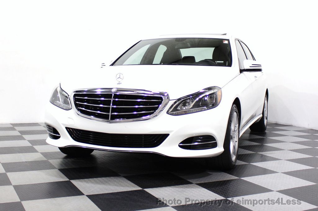 2016 Mercedes-Benz E-Class CERTIFIED E350 4MATIC Luxury Model AWD BLIS NAV CAM HK - 18319505 - 44