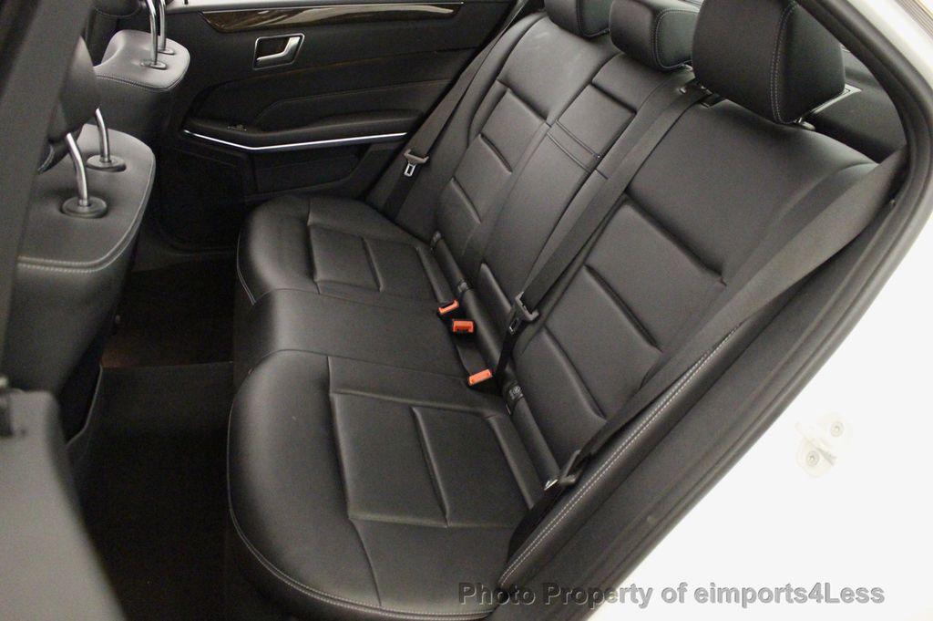 2016 Mercedes-Benz E-Class CERTIFIED E350 4MATIC Luxury Model AWD HK NAV CAM BLIS - 18319506 - 36
